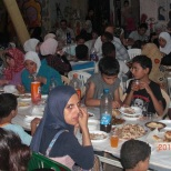 cyc iftar of palestinian refugee families from syria 1