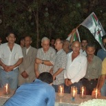 sabra shatila commemoration lighting candles