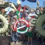 shatila people commemorating