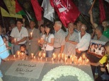 the candle march 16 9 2013