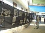 the exhibition of the massacre photos