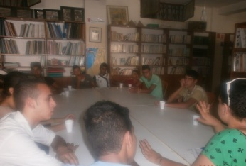 Shatila youth discuss the array of social problems affecting their lives, from the spread of drug-use in the camp to   specific issues in their homes.