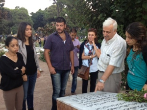 Palestinian cemetery near Shatila