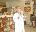 dr explaining